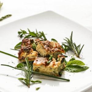 La Pitraia, frittata di stagione alle erbe aromatiche