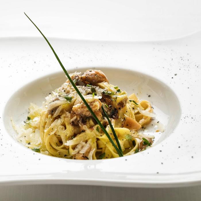 La Pitraia, zuppa di ceci, pancetta e rosmarino